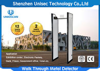China security check Walk through metal detector / Arched metal detector with high sensitivity UC700 usine