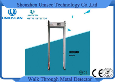 China CE/ISO certificated security walk through metal detector archway detector distributeur